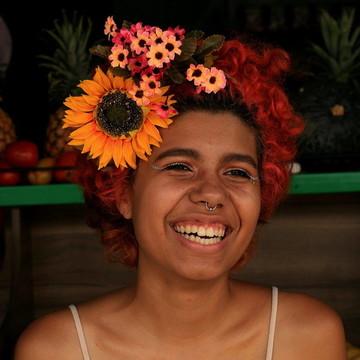 Acessório de flor para cabelo 033