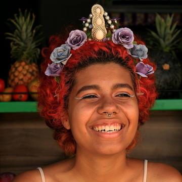 Acessório de flor para cabelo027