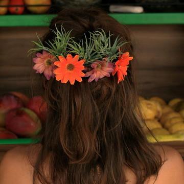 Acessório de flor para cabelo 023