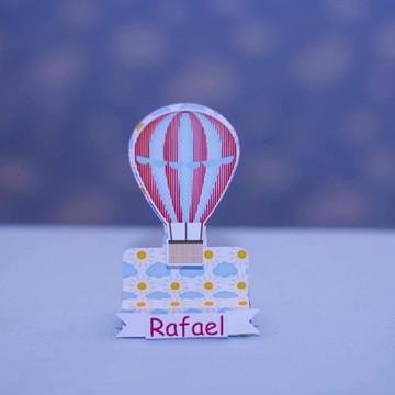 Porta chocolate balão