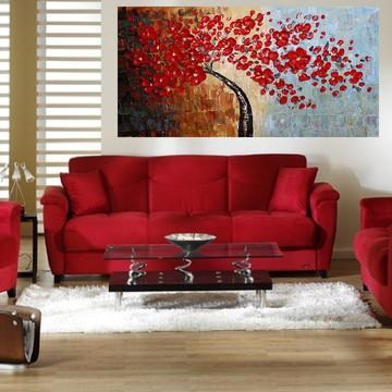 Quadro Pintura Tela Abstrato Moderno