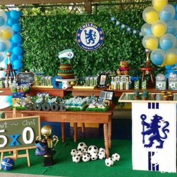 Decoração Tema Chelsea