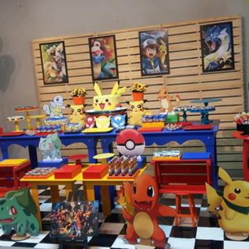 Decoração Mesa Pokemon