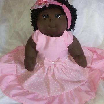 Boneca de pano bebê personalizável