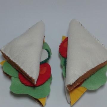 sanduiche em feltro