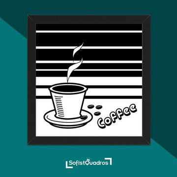 Quadros para cozinha - Coffee Vintage