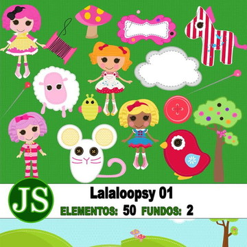 Kit Digital Scrapbook Lalalopsy