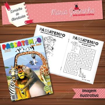 Livro de Atividades Madagascar