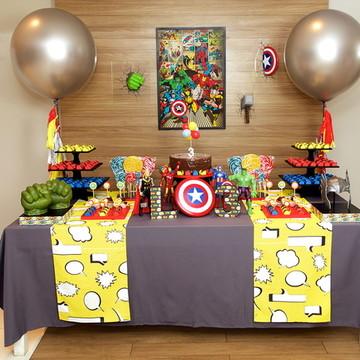 Aluguel Decoração de Festa - Vingadores
