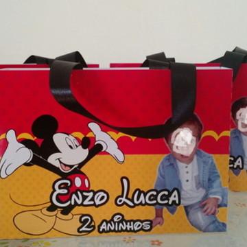 sacolas grande personalizadas mickey