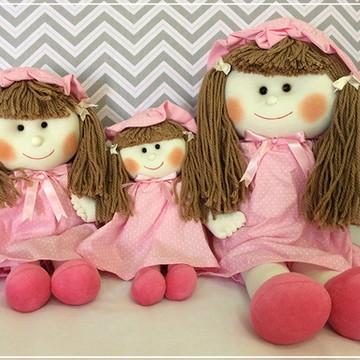 Trio boneca para nicho