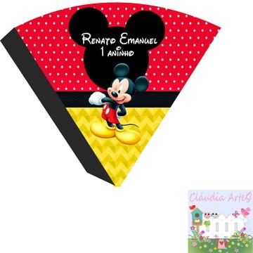Cone personalizado Mickey - Vazio