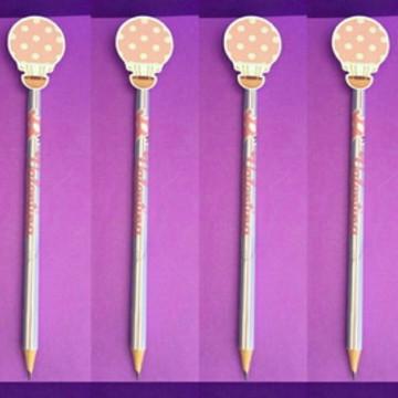 Lápis personalizado tema balão