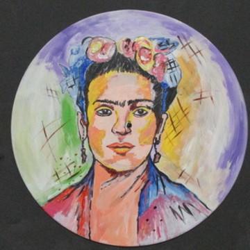 Disco decorativo - Frida Kahlo