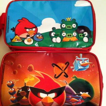 Necessaire estojo Angry Birds