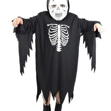 Fantasia Esqueleto caveira carnaval