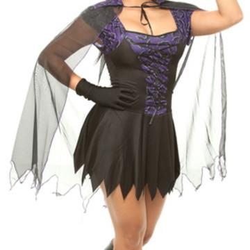 Fantasia Bruxa Adulto Carnaval Halloween