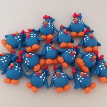 Miniaturas da Galinha Pintadinha Biscuit