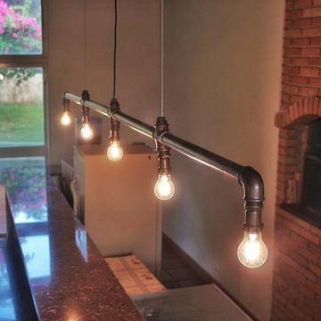 Lustre Industrial/Lâmpadas Filamento LED