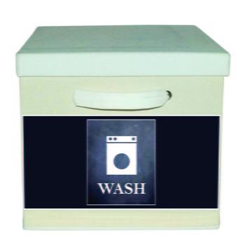 Caixa Organizadora com Alça Branca Wash