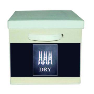 Caixa Organizadora com Alça Branca Dry