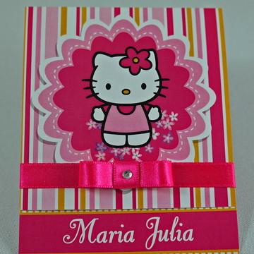 Convite Hello Kitty Modelo P26
