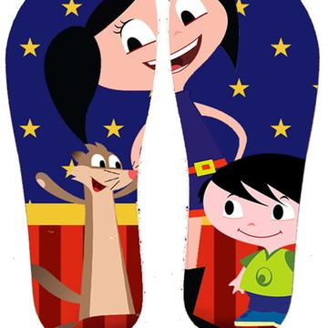 Chinelo Personalizado Show da Luna