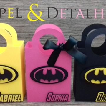 Sacolinhas Batman e Batgirl