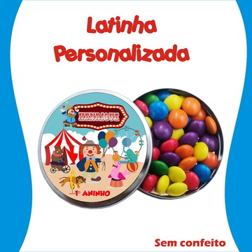 Latinha Circo