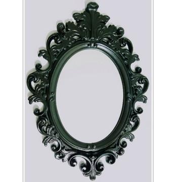 Espelho Barroco Com Moldura Em Resina