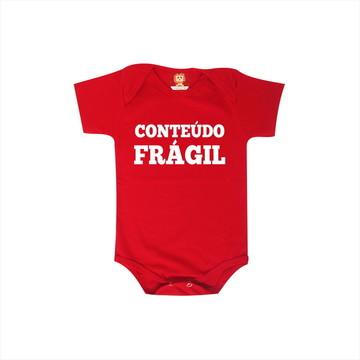 Body ou Camiseta Conteúdo frágil