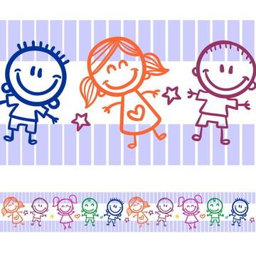 Faixa Para Quarto de Bebê -Crianças