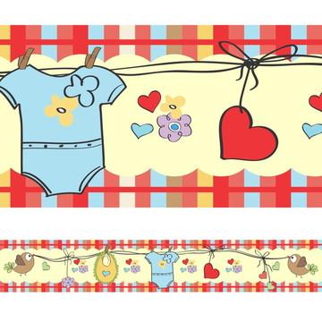 Faixa Para Quarto de Bebê - Bebê Enxoval
