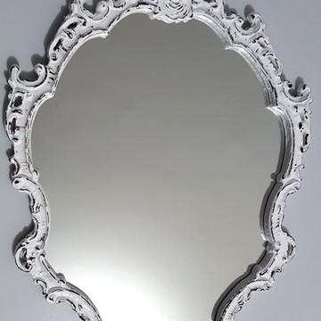 Espelho / Moldura Rococó Provençal