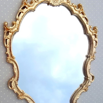 Espelho / Moldura Rococó Dourado