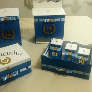 Kit Higiene - Passa Fita Príncipe