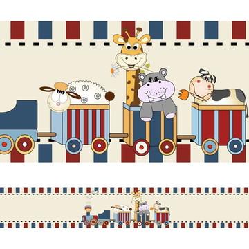 Faixa Para Quarto de Bebê - Girafa e Cia