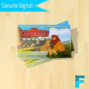 Convite Digital A Guarda do Leão