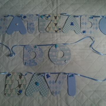 Varal com nome de tecido