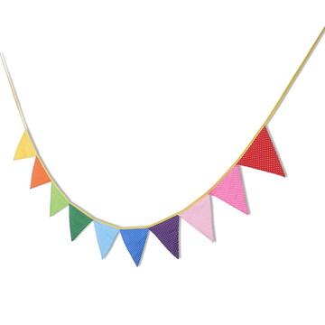 Bandeirinha em Tecido Arco Iris
