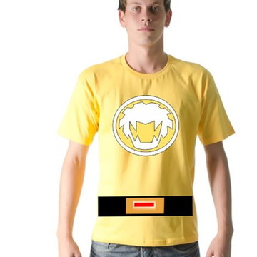 Camiseta Power Ranger Ninja Storm Dustin