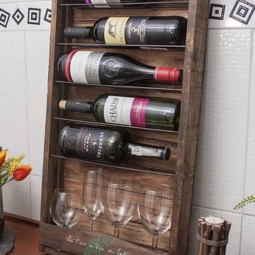 Mini Adega para Vinhos Personalizada