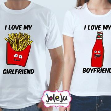 Camisetas Dia dos Namorados