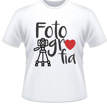Camiseta Curso Fotografia