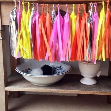 Cordão de Franjas TASSEL HAWAII Colors