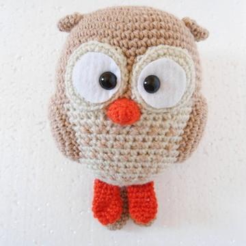 Amigurumi Coruja Marron 2.0 (Owl Gurumi)