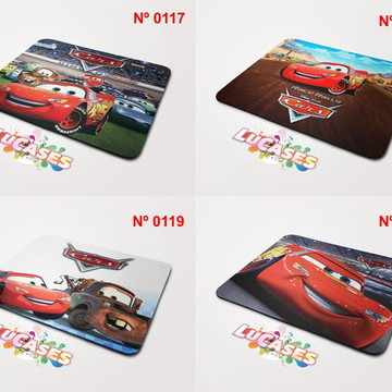 Mouse Pad Carros Relampago McQueen