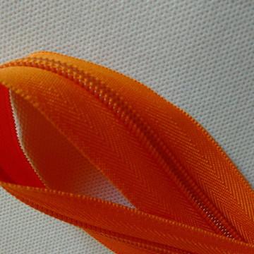 Zíper laranja n°6