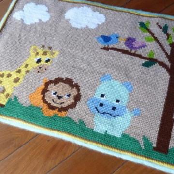 Tapete para Quarto Infantil - Safari