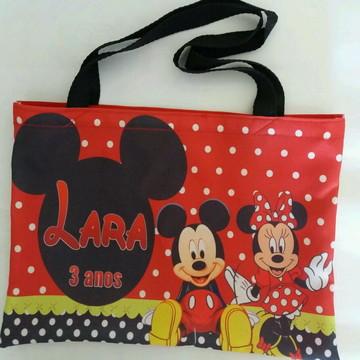 Tema Mickey e Minnie vermelha